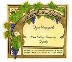 Nickel & Nickel Syrah Dyer Vineyard